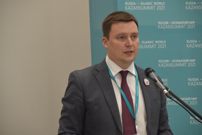 Председатель Совета молодых дипломатов МИД России Константин Колпаков.