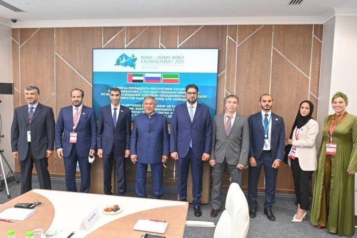 Минниханов: Татарстан ценит сотрудничество с партнёрами из ОАЭ