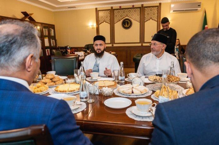 Муфтий принял посла Саудовской Аравии в России (Фото)