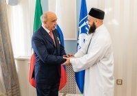 Муфтий РТ наградил ректора КФУ орденом «Марджани» III степени