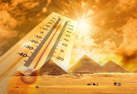На Египет надвигается аномальная жара
