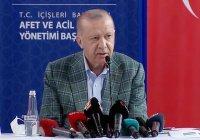 Эрдоган заявил о задержании подозреваемого в поджоге леса