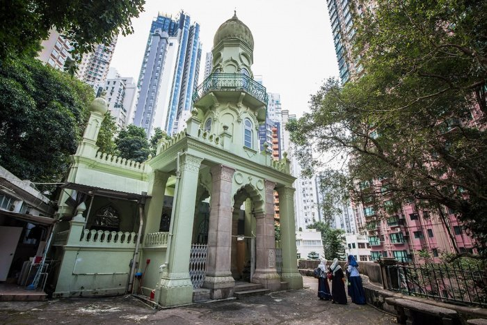 Мечеть Джамиа – самая старая сохранившаяся мечеть Гонконга. Год основания 1890 (Фото: islamosfera.ru).