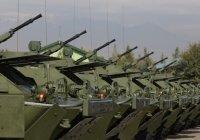 Россия увеличила поставки оружия в Центральную Азию