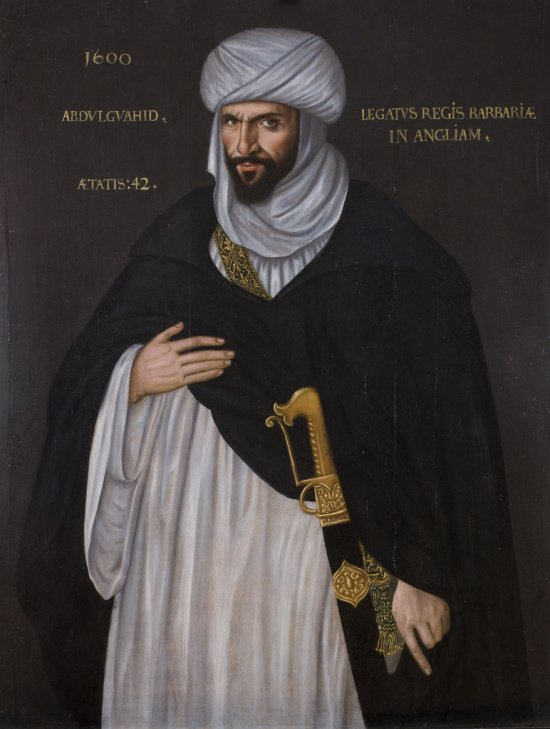 Мавр, Абдулвахид ибн Масуд ибн Мухаммед Анун, маврский посол к английской королеве Елизавете I. Источник фото wikipedia.org