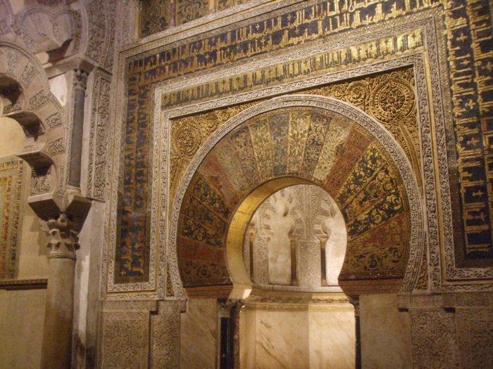 Михраб мечети (Фото: sacredfootsteps.org).