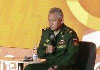 Шойгу призвал готовиться к вторжению боевиков из Афганистана