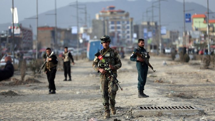 Силы безопасности Афганистана. (Фото: thespectator.info).