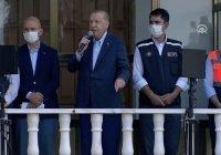 Эрдоган объявил три провинции Турции зоной стихийного бедствия