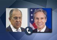 Лавров и Блинкен обсудили смену власти в Афганистане