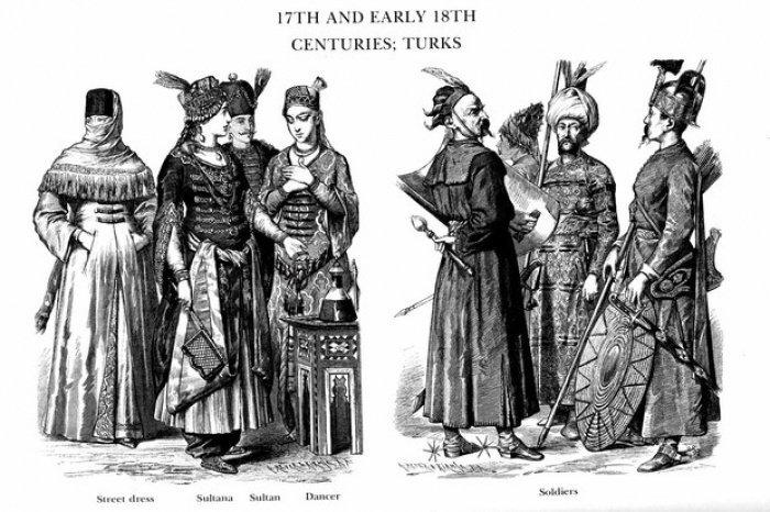 Одежда в Османской империи (Фото: realnoevremya.ru).