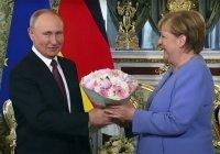 Телефон Меркель зазвонил прямо во время переговоров с Путиным