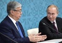 Путин и Токаев проведут переговоры в Москве