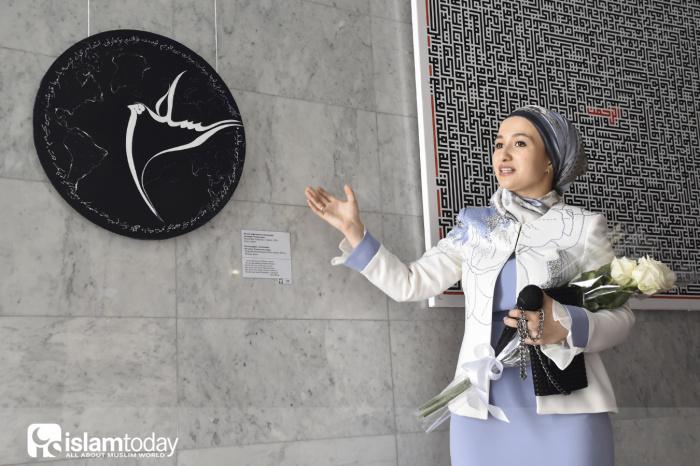 В стенах Музея исламской культуры открылась новая выставка.