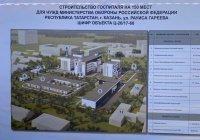 Шойгу дал старт строительству госпиталя Минобороны в Казани