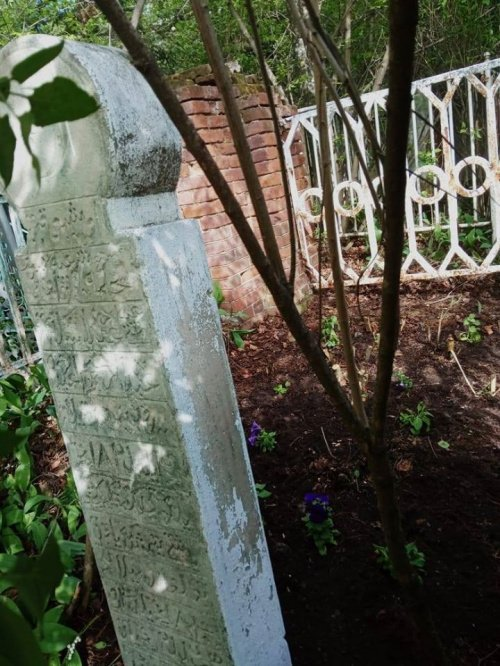 Место захоронения муфтия Г. Габдрахимова на Мусульманском кладбище Уфы (Фото: tatar-duslyk.ru).