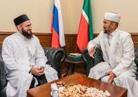 Камиль Самигуллин встретился с муфтием Республики Алтай