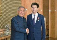 Президент РТ встретился с руководством Генерального консульства Казахстана