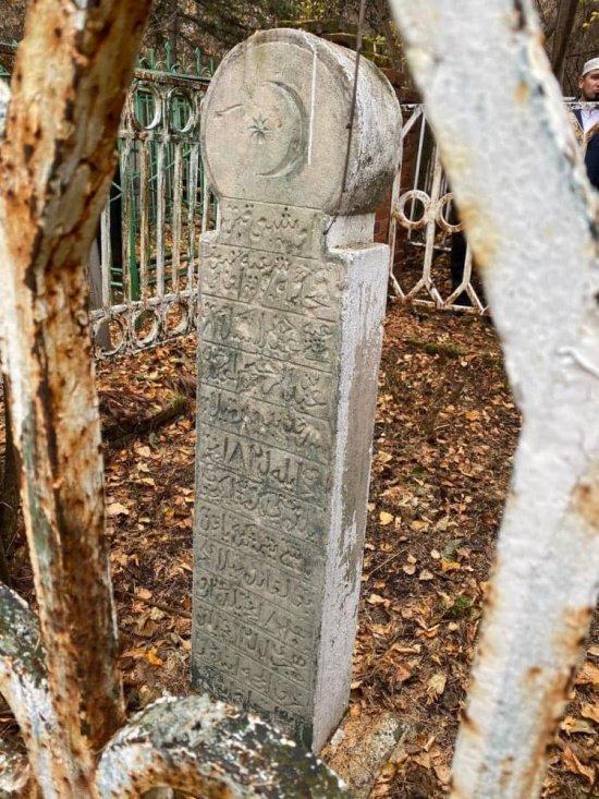 Могила муфтия Габдессаляма Габдрахимова. Мусульманское кладбище Уфы. Источник фото dumrt.ru