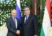 Президент России поздравил Эмомали Рахмона с Днем независимости Таджикистана