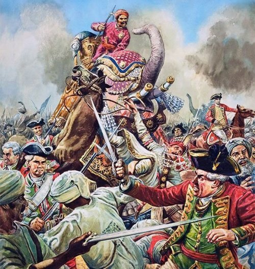 Моголы использовали больших слонов для своей кавалерии (Фото: zen.yandex.ru).