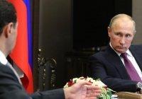 Путин: в Сирии сохраняются очаги терроризма