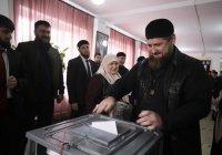 Кадыров лидирует на выборах главы Чечни