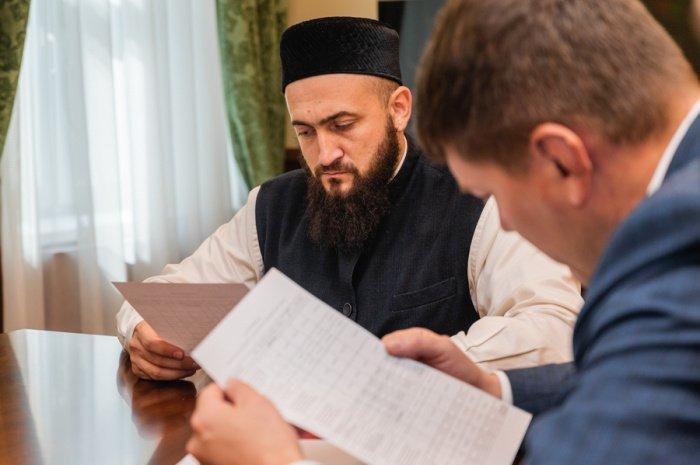 В ДУМ РТ обсудили вопросы ремонта в Бурнаевской мечети (Фото)