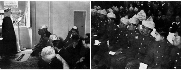 Свои двери новая мечеть распахнулся в пятницу 1 августа 1941 года (Фото: eastlondonmosque.org).