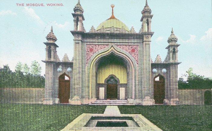Первая мечеть в Англии (shahjahanmosque.org).