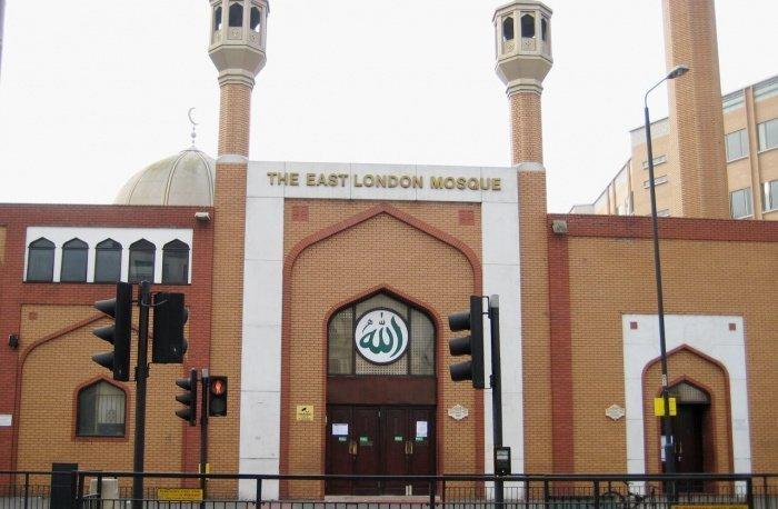 Восточная лондонская мечеть (Фото: yandex.ru).