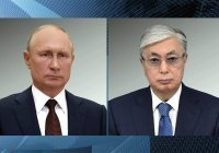 Кремль: Путин и Токаев удовлетворены договоренностями по линии ОДКБ и ШОС