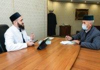 Муфтий провел приём населения в мечети «Кул Шариф»