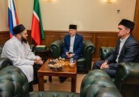 Муфтий РТ встретился с главой ДУМ Ивановской области