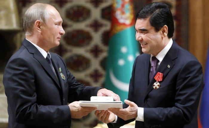 Путин направил телеграмму Бердымухамедову