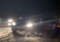В Башкортостане первый снег спровоцировал коллапс на дорогах (Видео)