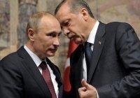 СМИ сообщили о просьбе Эрдогана к Путину