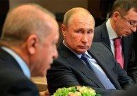 Эрдоган: мир на Ближнем Востоке зависит от России и Турции