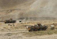 Россия отработала ликвидацию боевиков в горах Таджикистана