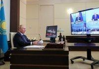 Путин рассказал о рекордных показателях товарооборота с Казахстаном