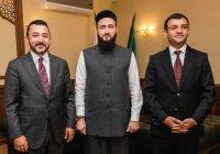 Муфтий РТ провел встречу с руководством молодежного форума ОИС