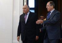 В МИД анонсировали переговоры Лаврова с египетским коллегой