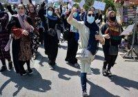 Афганские женщины провели в Кабуле акцию протеста