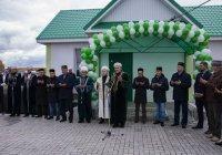 В Нижнекамском мухтасибате открылась новая мечеть (Фото)
