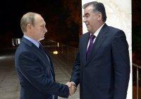 Путин поздравил Рахмона с днем рождения