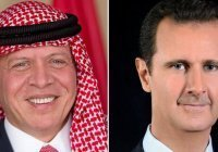 Король Иордании и президент Сирии побеседовали впервые за 10 лет