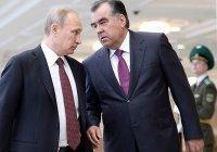 Путин и Рахмон обсудили региональную безопасность