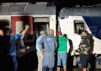 В Тунисе столкнулись два пассажирских поезда