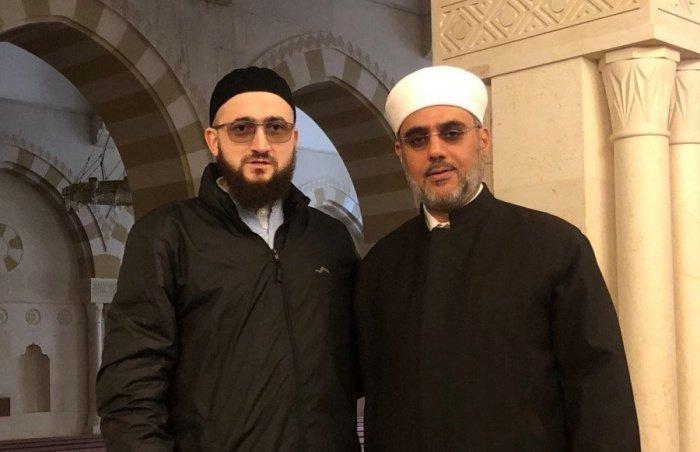 Муфтий Татарстана с Саидом Фуда в столице Иордании Аммане (Фото: ДУМ РТ).