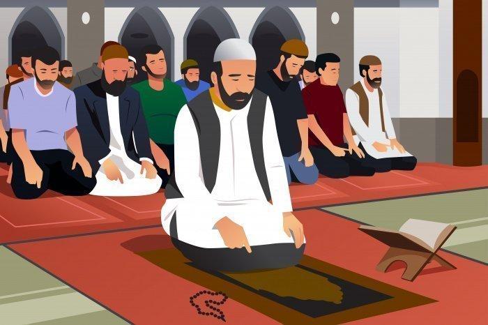 Имамом в коллективном намазе выступает исключительно мужчина.
